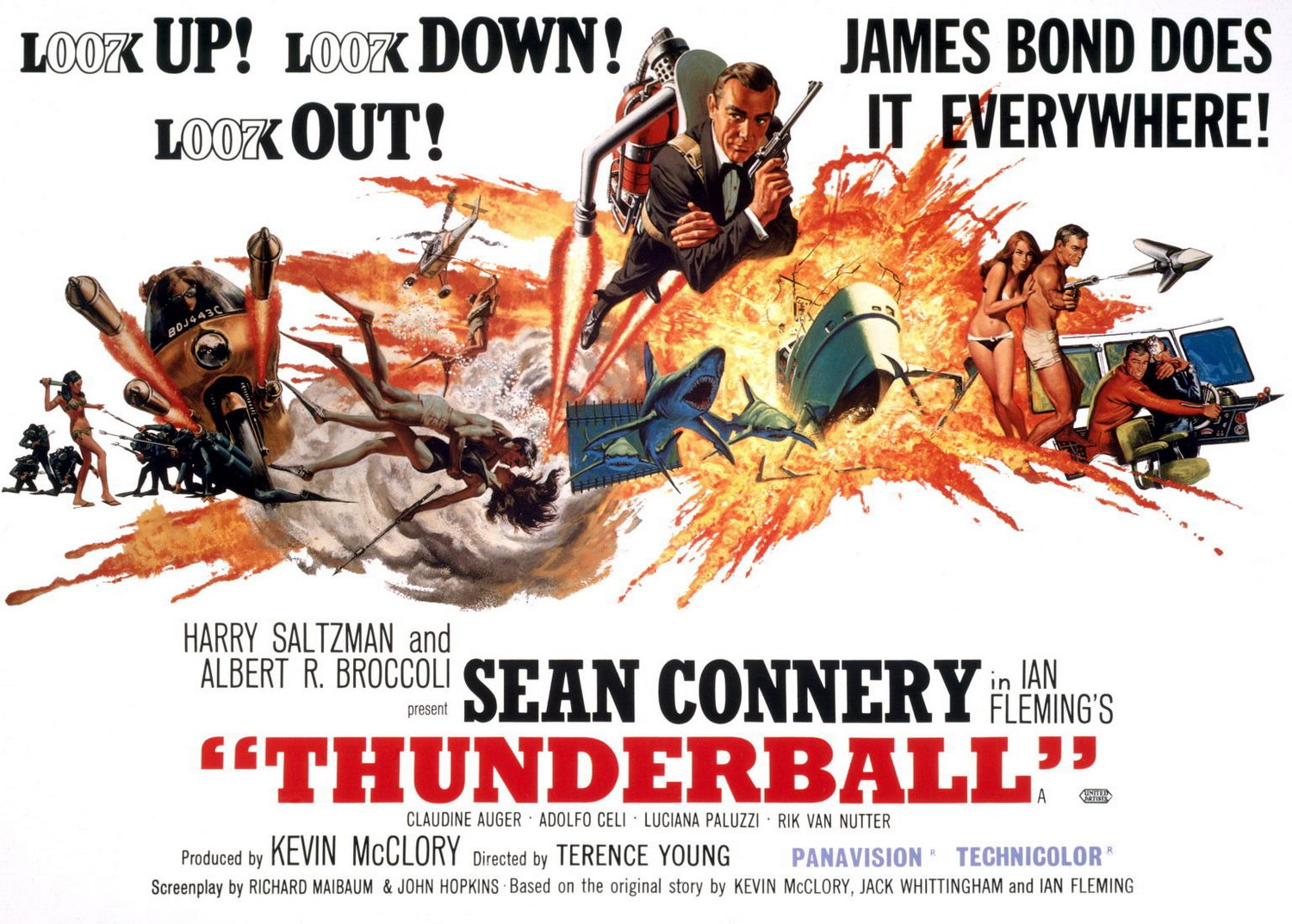 Thunderball 1965 Film Review The Cinema Cabin